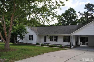 Benson Single Family Home Contingent: 920 Lazy Branch Drive