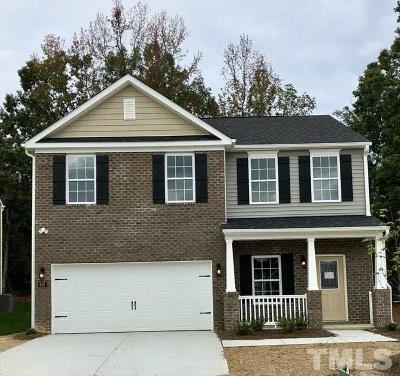 Zebulon Single Family Home For Sale: 620 Rose Mallow Drive