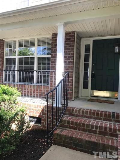 Raleigh Townhouse For Sale: 9435 Oglebay Court