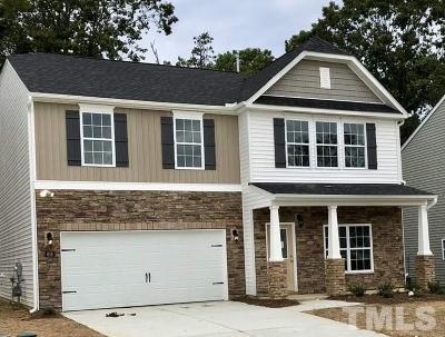 Zebulon Single Family Home For Sale: 616 Rose Mallow Drive