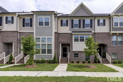 Durham Townhouse For Sale: 601 Mallory Lane #17