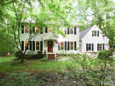 Chapel Hill Single Family Home For Sale: 9412 Laurel Springs Drive
