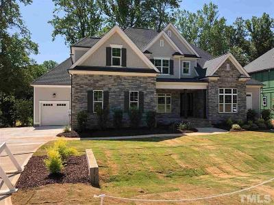 Wake Forest Single Family Home Contingent: 1213 Reservoir View Lane #Lt69