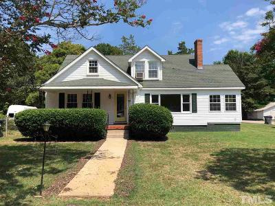 Knightdale Single Family Home For Sale: 300 & 302 Hester Street