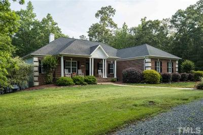 Chatham County Single Family Home For Sale: 196 Woods Of McCoy Drive