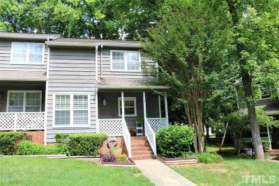 Cary NC Townhouse For Sale: $185,000