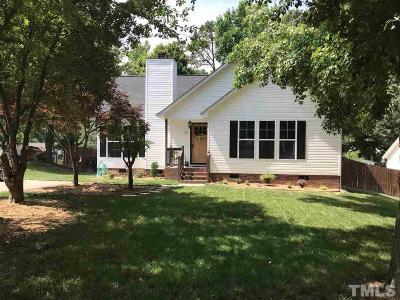 Knightdale Single Family Home Contingent: 109 Plowlan Court