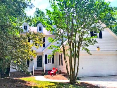 Raleigh Single Family Home For Sale: 8620 Carolingian Court