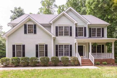 Chapel Hill Single Family Home Contingent: 222 Autumn Drive
