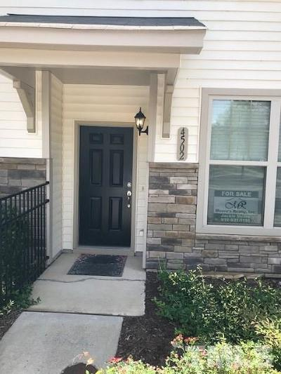 Wake Forest Townhouse For Sale: 4502 Middletown Drive