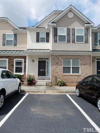 Morrisville Townhouse For Sale: 711 Keystone Park Drive #66