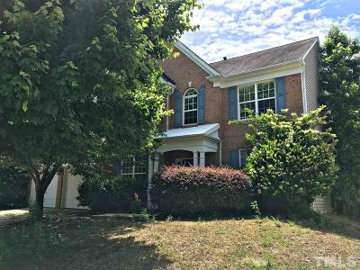 Raleigh NC Single Family Home Contingent: $369,900