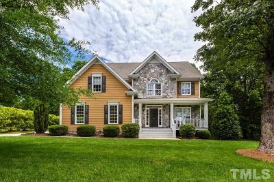Wake Forest Single Family Home For Sale: 155 Scotts Pine Circle