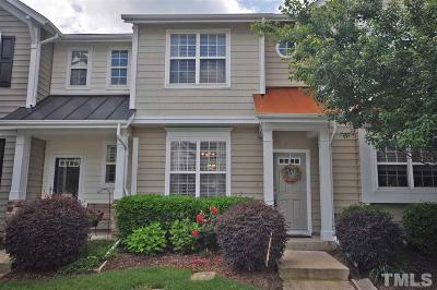 Durham Townhouse For Sale: 4109 Brenmar Lane