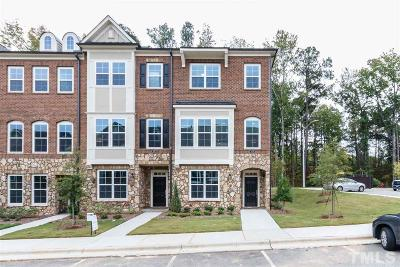 Raleigh Townhouse For Sale: 807 Bankston Woods Way #81