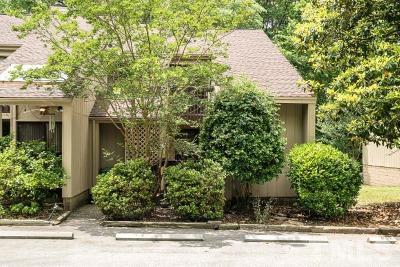 Durham Townhouse For Sale: 4100 Five Oaks Drive #34