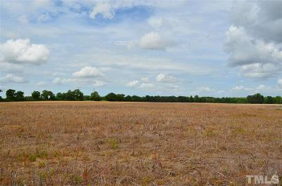 Harnett County Residential Lots & Land For Sale: W Strickland Road
