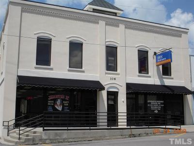 Wake County Commercial For Sale: 106 W Horton