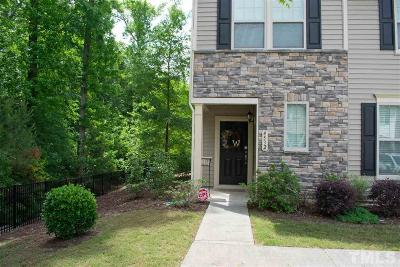 Wake Forest Townhouse For Sale: 4532 Tarkiln Place