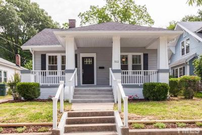 Durham Single Family Home For Sale: 512 N Driver Street
