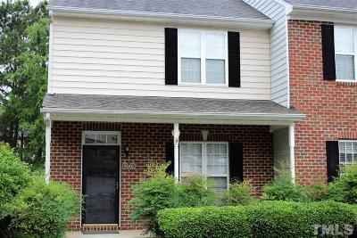 Wake County Townhouse For Sale: 9001 Grassington Way
