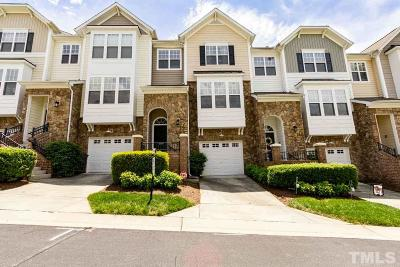 Wake County Townhouse For Sale: 5115 Lady Of The Lake Drive