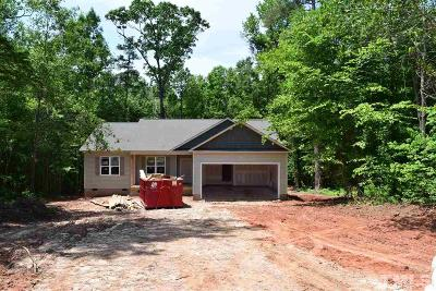 Clayton Single Family Home For Sale: 621 Vinson Road