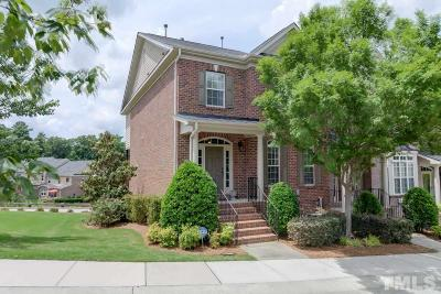 Cary Townhouse For Sale: 1011 Weston Green Loop