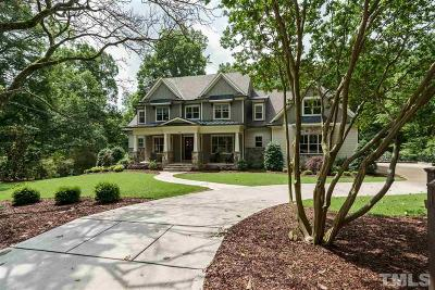 Raleigh Single Family Home For Sale: 3201 Churchill Drive