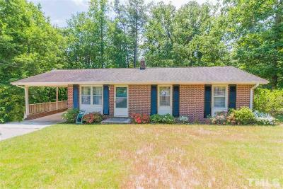 Zebulon Single Family Home Pending: 1516 Carroll Heights Road