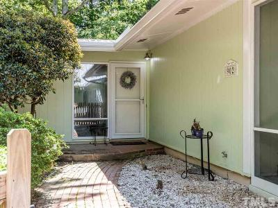 Chapel Hill Single Family Home For Sale: 902 Christopher Road