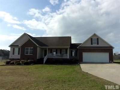 Harnett County Single Family Home For Sale: 218 Fred McLeod Lane #lot 13