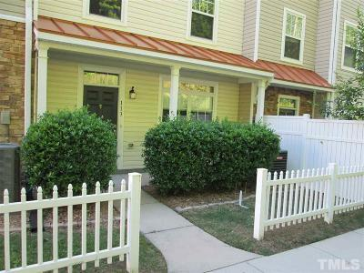 Raleigh Townhouse For Sale: 11730 Mezzanine Drive #113
