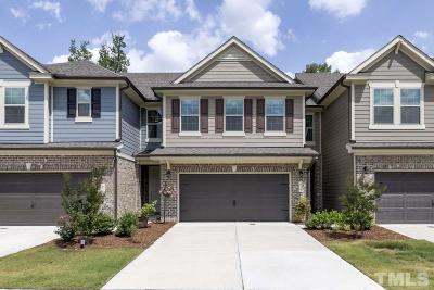 Cary Townhouse For Sale: 619 Rockcastle Drive