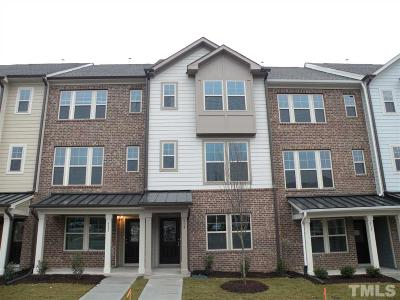 Cary Townhouse For Sale: 313 Rosapenna Lane