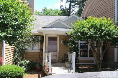 Raleigh NC Townhouse For Sale: $110,000