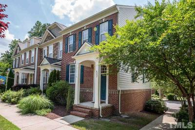 Cary Townhouse For Sale: 4057 Yellowfield Way