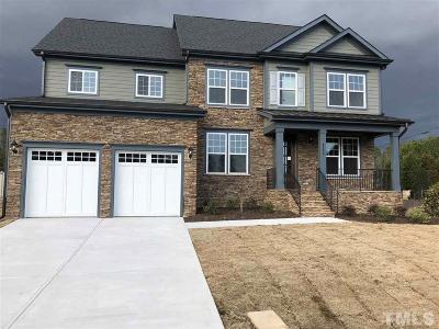 Raleigh NC Single Family Home For Sale: $544,990