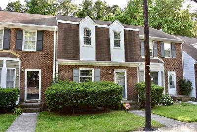 Cary Townhouse For Sale: 639 Middleton Avenue