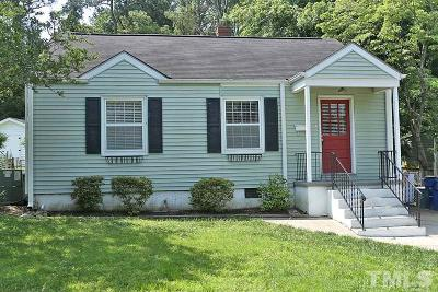 Raleigh NC Single Family Home For Sale: $289,900