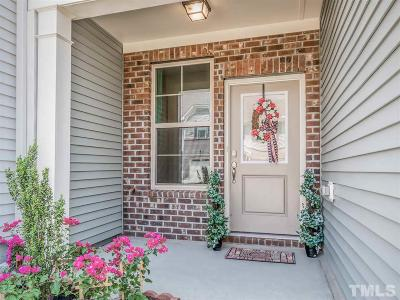 Cary Townhouse For Sale: 721 Davenbury Way