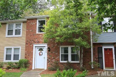 Raleigh Townhouse Contingent: 7740 Crown Crest Court