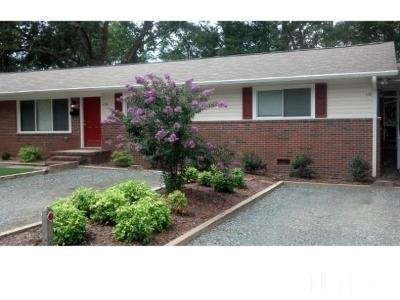 Chapel Hill Multi Family Home Pending: 120 W Stinson Street