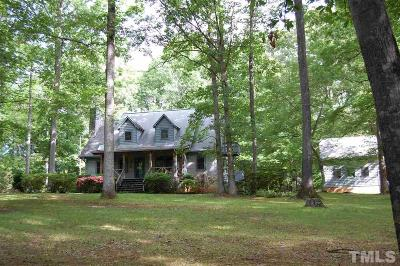 Chapel Hill Single Family Home For Sale: 5621 W Nc 54 Highway