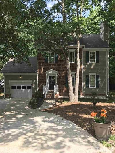 Raleigh Single Family Home For Sale: 3609 Rubra Circle