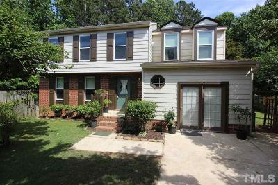 Raleigh Single Family Home For Sale: 1109 Redleaf Court