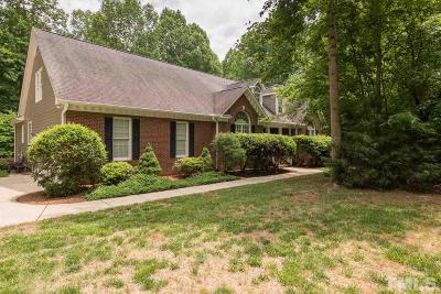 Hillsborough Single Family Home Contingent: 1507 Butterfly Place