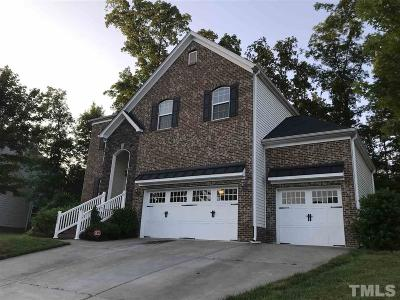 Durham Single Family Home For Sale: 1504 Pattersons Mill Road