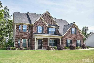 Harnett County Single Family Home For Sale: 146 Summer Creek Lane