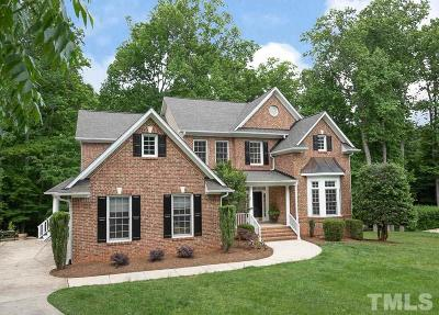 Chapel Hill Single Family Home For Sale: 306 Hogan Woods Circle